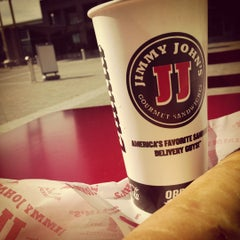 Photo taken at Jimmy John's by May L. on 11/23/2012