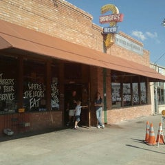 Photo taken at Twisted Root Burger Company by lori d. on 11/3/2012