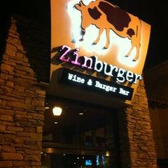 Photo taken at Zinburger by Scott H. on 3/19/2012