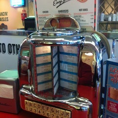 Photo taken at Ed's Easy Diner by Lewis K. on 10/8/2012