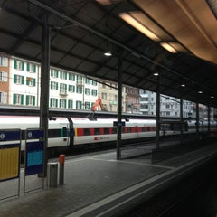Photo taken at Bahnhof Olten by Michihiko S. on 3/1/2013