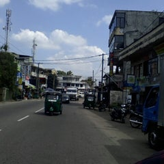 Photo taken at Pepiliyana Junction by Muxain N. on 12/31/2013