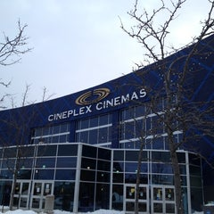 Photo taken at Cineplex Odeon Winston Churchill Cinemas by Leigh Y. on 3/13/2014