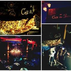 Photo taken at Café de Paris by Nat T. on 1/25/2013