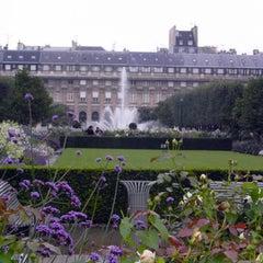 Photo taken at Palais Royal by Imane E. on 5/15/2013