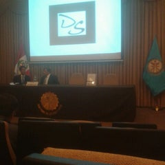 Photo taken at Ministerio de Energía y Minas by Lorena Z. on 3/15/2014