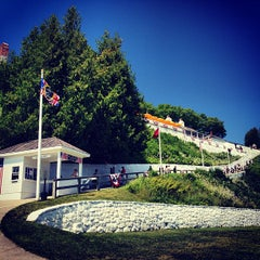 Photo taken at Fort Mackinac by Jake T. on 7/17/2013