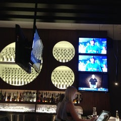 Photo taken at CHOP Steakhouse Bar by Devin L. on 10/2/2012