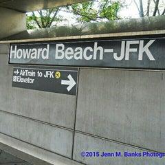 Photo taken at MTA Subway - A Train by ♀ 💕 Miss Jenn B. on 5/2/2015