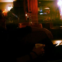 Photo taken at Blaze Hookah Lounge by Michael A C. on 1/4/2013