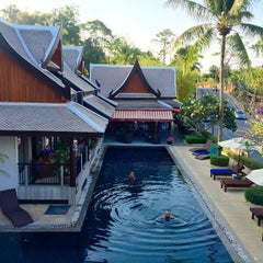 Photo taken at Baan Yin Dee Boutique Resort by Minnie M. on 3/4/2015