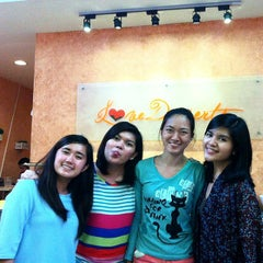 Photo taken at Love Desserts by Abbey S. on 11/25/2014