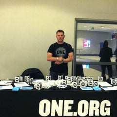 Photo taken at ONE Campaign Table at Maroon 5 by Andrew G. on 3/16/2013