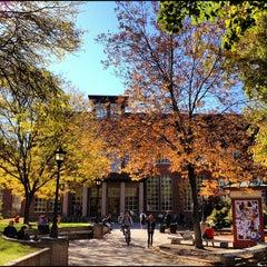 Photo taken at Dimond Library by Jason B. on 10/18/2012