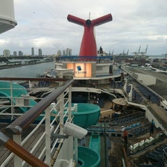 Photo taken at Port Of Miami - Carnival Cruise by Allen S. on 12/15/2012