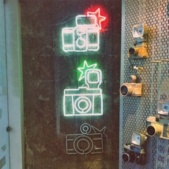 Photo taken at Lomography Gallery Store by Thales F. on 5/10/2013