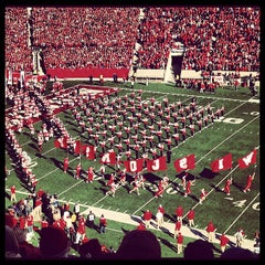 Photo taken at Camp Randall Stadium by Ben B. on 10/27/2012