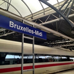 Photo taken at Gare de Bruxelles-Midi / Station Brussel-Zuid by Kristof Victor D. on 5/2/2013