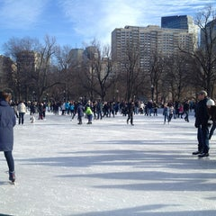 Photo taken at Frog Pond by Jackie H. on 1/5/2013