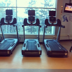 Photo taken at Algonquin College Fitness Zone by Emily on 4/20/2013