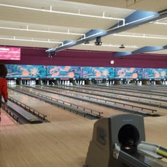 Photo taken at Bowl-A-Roll Lanes by Holly F. on 4/3/2014