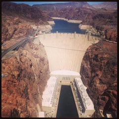 Photo taken at Hoover Dam by Gala S. on 5/4/2013