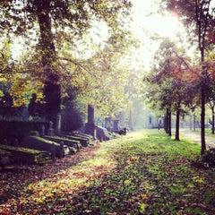Photo taken at Begraafplaats van Brussel / Cimetière de Bruxelles by Fulya on 10/21/2012
