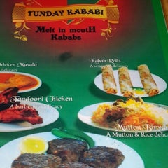 Photo taken at Tunday Kababi by Lav K. on 6/13/2014