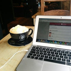 Photo taken at Coffee#1 by Emily G. on 2/10/2014