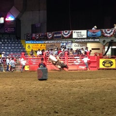 Photo taken at Stockyards Arena & Stables by Grencis on 2/15/2014