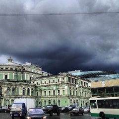 Photo taken at Мариинский театр / Mariinsky Theatre by Dmitry M. on 6/17/2013