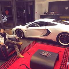 Photo taken at Lamborghini Store by Muhammet T. on 1/11/2015