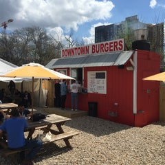 Photo taken at Down Town Burgers by Erik S. on 3/13/2015
