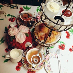Photo taken at The Tea Cosy by Lim E. on 3/17/2015