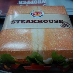 Photo taken at Burger King by Mrs T. on 1/30/2014