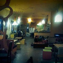 Photo taken at Hostel Mostel by Koka K. on 1/4/2013