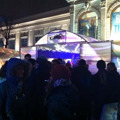 Das Foto wurde bei Winter im MQ von CITY O. am 11/28/2014 aufgenommen
