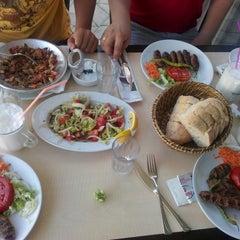 Photo taken at Palmiye Et &Kasap Izgara by Kzbn G. on 7/30/2014