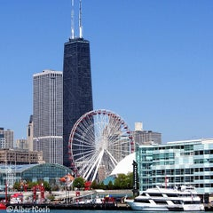Photo taken at Navy Pier by Albert C. on 7/18/2013