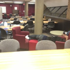 Photo taken at Mardigian Library by Stephen on 12/13/2012