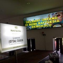 Photo taken at Bandara Fatmawati Soekarno (BKS) by バユタ グ. on 11/11/2013