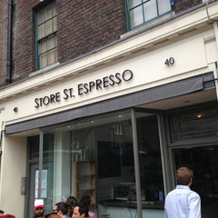 Photo taken at Store Street Espresso by Paris A. on 7/26/2013