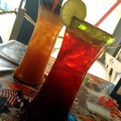 Photo taken at Barracrudas Beach Lounge by Ranas & Charles by Celeste V. on 3/30/2013