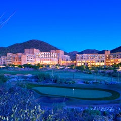 Photo taken at JW Marriott Tucson Starr Pass Resort & Spa by Mike B. on 4/24/2013