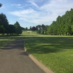 Photo taken at University of Michigan Golf Course by Ryan S. on 6/2/2015