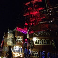 Photo taken at Pirates of Alanya by Alper T. on 6/18/2014
