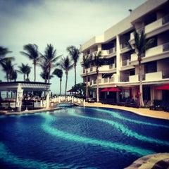 Photo taken at Imperial Hua Hin Beach Resort by Base Suwaparp P. on 5/9/2013