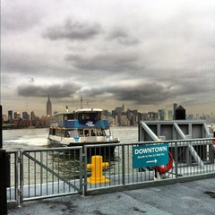 Photo taken at East River Ferry - North Williamsburg Terminal by Ben C. on 10/26/2012