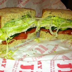 Photo taken at Jimmy John's by Chuck T. on 5/13/2013