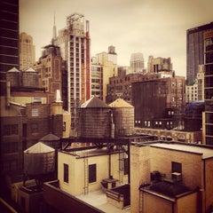 Photo taken at Fairfield Inn & Suites New York Manhattan/Times Square by Doug B. on 12/14/2014